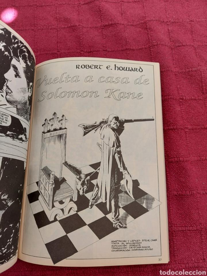 Cómics: CONAN THE BARBARIAN ANUAL 80 -ÁLBUM ESPECIAL LA ESPADA SALVAJE DE CONAN-FANTASIA HEROICA-COMIC FORUM - Foto 15 - 214474293