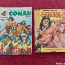 Cómics: CONAN THE BARBARIAN ANUAL 80 -ÁLBUM ESPECIAL LA ESPADA SALVAJE DE CONAN-FANTASIA HEROICA-COMIC FORUM. Lote 214474293