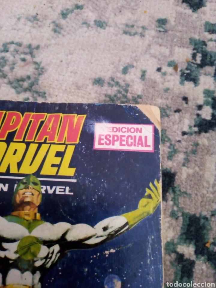 Cómics: Colección completa Capitán Marvel vol 1 Vértice. 13 números de taco - Foto 2 - 214527701