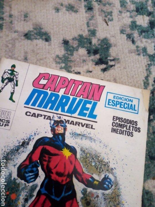 Cómics: Colección completa Capitán Marvel vol 1 Vértice. 13 números de taco - Foto 6 - 214527701