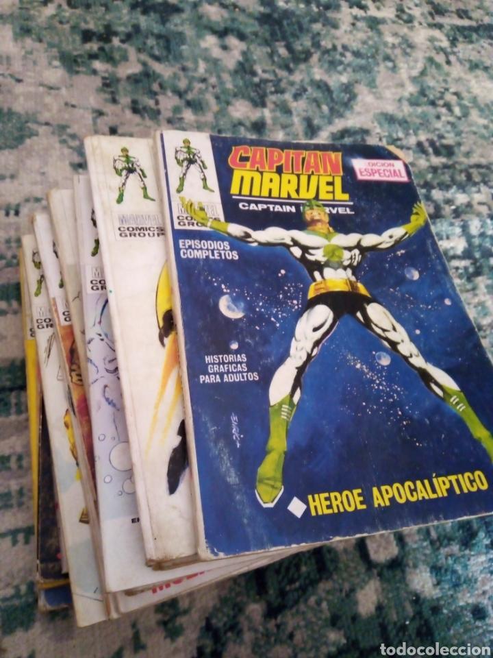 COLECCIÓN COMPLETA CAPITÁN MARVEL VOL 1 VÉRTICE. 13 NÚMEROS DE TACO (Tebeos y Comics - Vértice - V.1)
