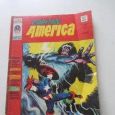 Comics: CAPITÁN AMÉRICA VOL. 3 Nº 18 50 PTS. 1977. MÁS MONSTRUO QUE HOMBRE. VÉRTICE E10X4. Lote 214725100