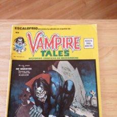 Cómics: VAMPIRE TALES ESCALOFRIO NÚMERO 22. Lote 215010201