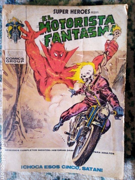 SUPER HÉROES VOL 1 NÚM 4. EL MOTORISTA FANTASMA. VÉRTICE (Tebeos y Comics - Vértice - Super Héroes)