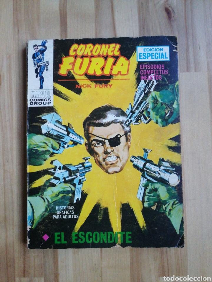 CORONEL FURIA VERTICE V1 TACO N°14 EL ESCONDITE (Tebeos y Comics - Vértice - Furia)
