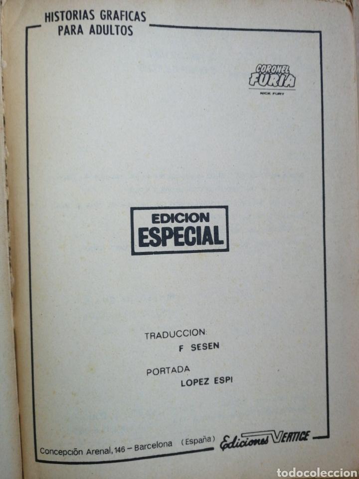Cómics: Coronel furia vertice V1 taco n° 2 El origen de escudo - Foto 4 - 215023663