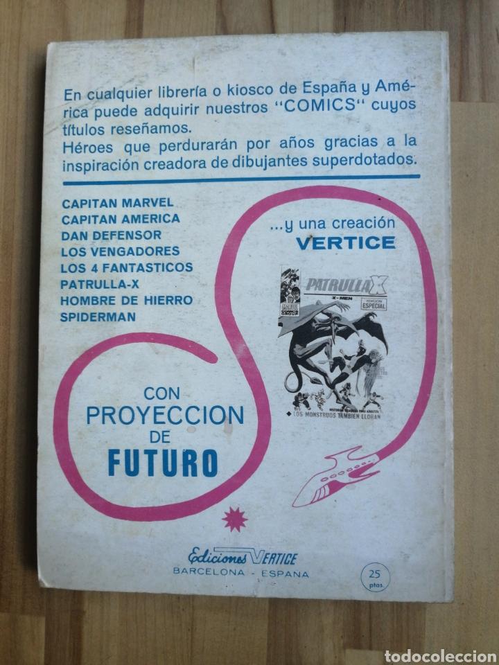 Cómics: Coronel furia vertice V1 taco, n° 10 Los valientes tambien mueren - Foto 2 - 215025205