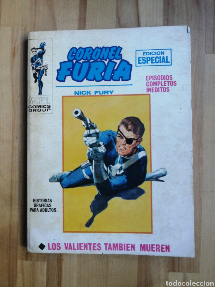 CORONEL FURIA VERTICE V1 TACO, N° 10 LOS VALIENTES TAMBIEN MUEREN (Tebeos y Comics - Vértice - Furia)
