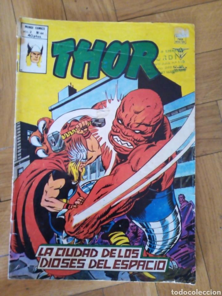 THOR VOL 2 NÚM 44. VÉRTICE (Tebeos y Comics - Vértice - Thor)