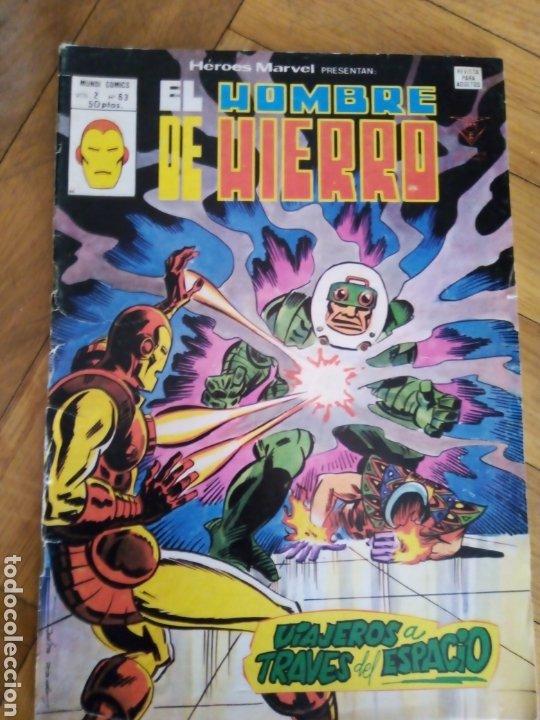 HÉROES MARVEL V. 2 NÚM 63. EL HOMBRE DE HIERRO. VÉRTICE (Tebeos y Comics - Vértice - Hombre de Hierro)