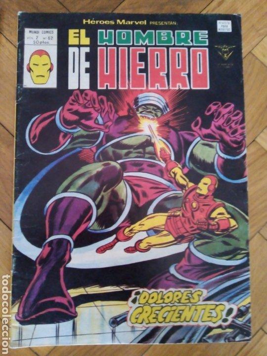 HÉROES MARVEL VOL 2 NÚM 62. EL HOMBRE DE HIERRO. VÉRTICE (Tebeos y Comics - Vértice - Hombre de Hierro)