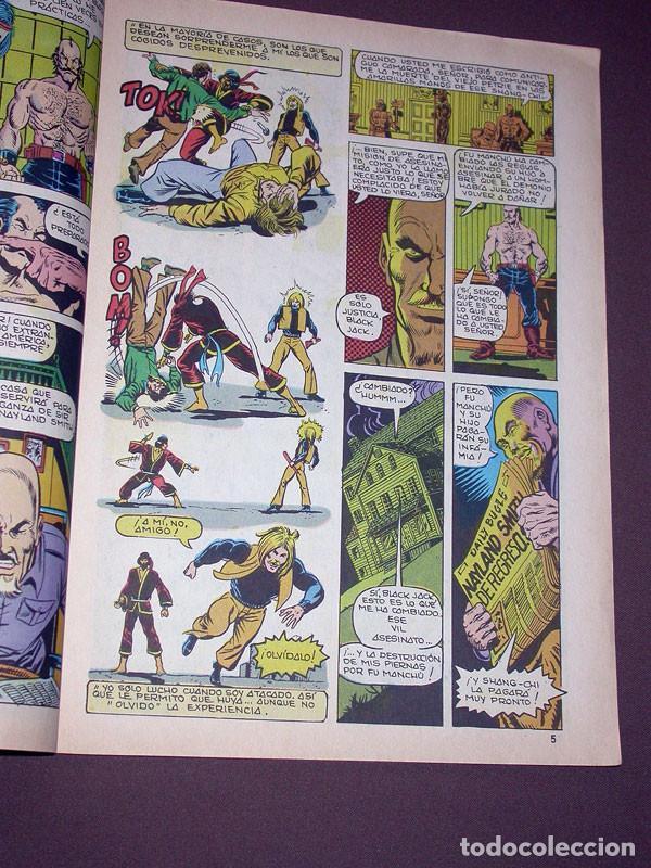 Cómics: RELATOS SALVAJES VOL. 2 Nº 1. JUDO-KARATE KUNG-FU. VÉRTICE, 1981. ENGLEHART, STARLIN, GULACY. - Foto 2 - 215455377