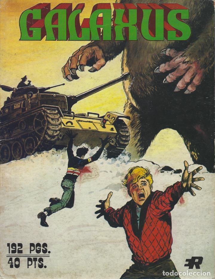GALAXUS. SERIE COMPLETA:3 NUMS EN UN TOMO. FORMATO GRANDE. SOLANO LOPEZ. FLEETWAY. EDITORIAL ROLLAN (Tebeos y Comics - Vértice - Fleetway)