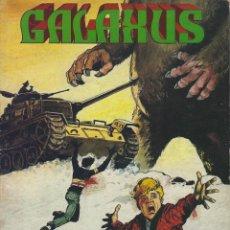 Comics : GALAXUS. SERIE COMPLETA:3 NUMS EN UN TOMO. FORMATO GRANDE. SOLANO LOPEZ. FLEETWAY. EDITORIAL ROLLAN. Lote 215658796
