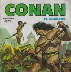 Cómics: CONAN EL BARBARO EXTRA. EDICIONES VERTICE. TOMO RUSTICA. Lote 215659853