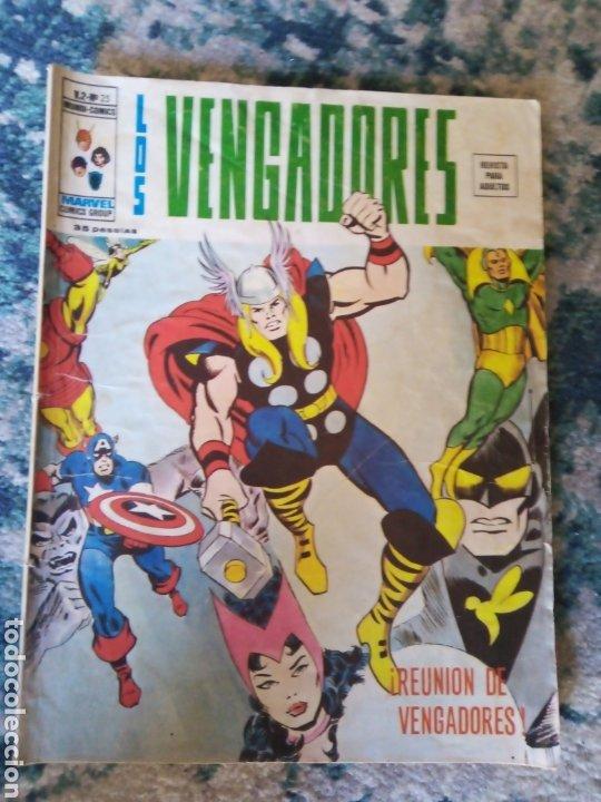 LOS VENGADORES VOL 2 NÚM 25. VÉRTICE (Tebeos y Comics - Vértice - Vengadores)