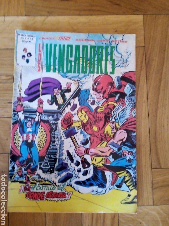 LOS VENGADORES VOL 2 NÚM 48. VÉRTICE (Tebeos y Comics - Vértice - Vengadores)