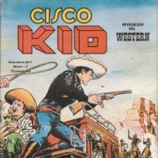 Cómics: CÓMIC CISCO KID Nº 2 ED. VËRTICE / KING FEATURES 42PGS. COLOR 1980. Lote 215805390