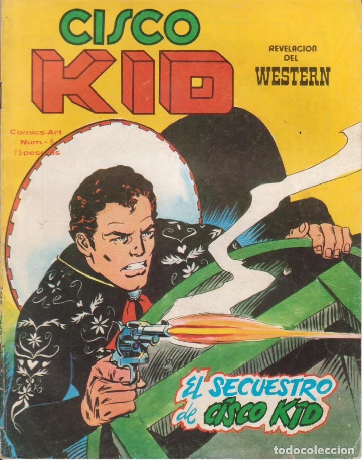CÓMIC CISCO KID Nº 6 ED. VËRTICE / KING FEATURES 42PGS. COLOR 1980 (Tebeos y Comics - Vértice - Otros)