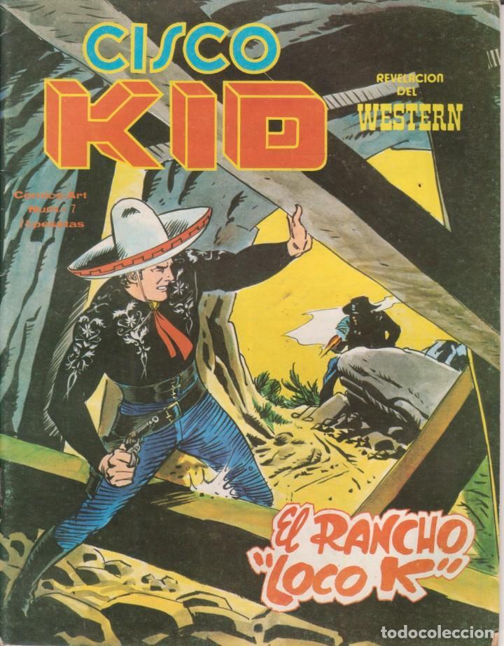 CÓMIC CISCO KID Nº 7 ED. VËRTICE / KING FEATURES 42PGS. COLOR 1980 (Tebeos y Comics - Vértice - Otros)