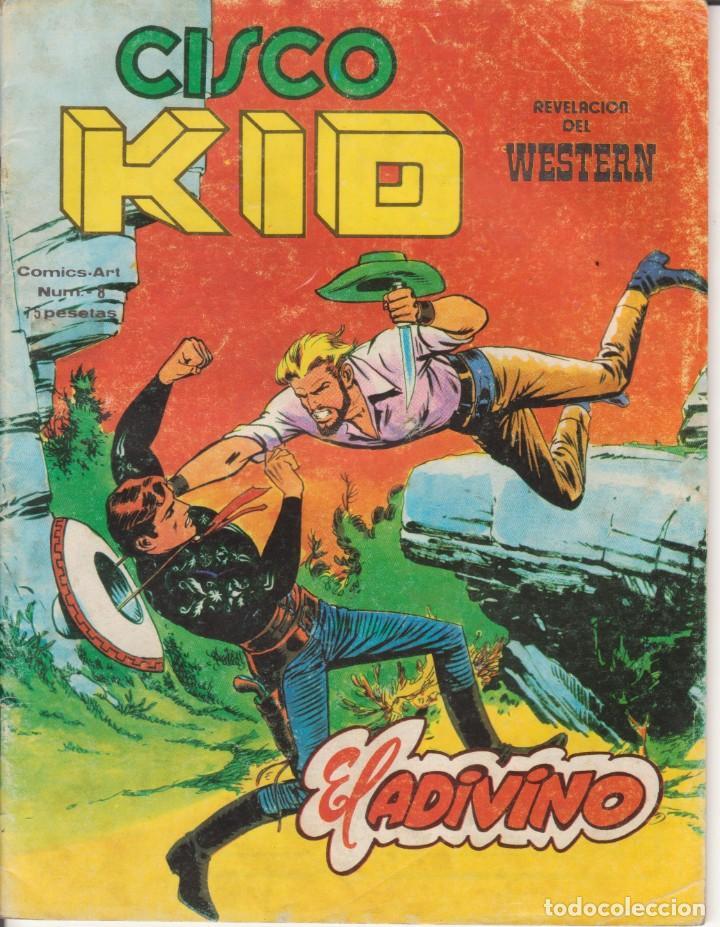 CÓMIC CISCO KID Nº 8 ED. VËRTICE / KING FEATURES 42PGS. COLOR 1980 (Tebeos y Comics - Vértice - Otros)