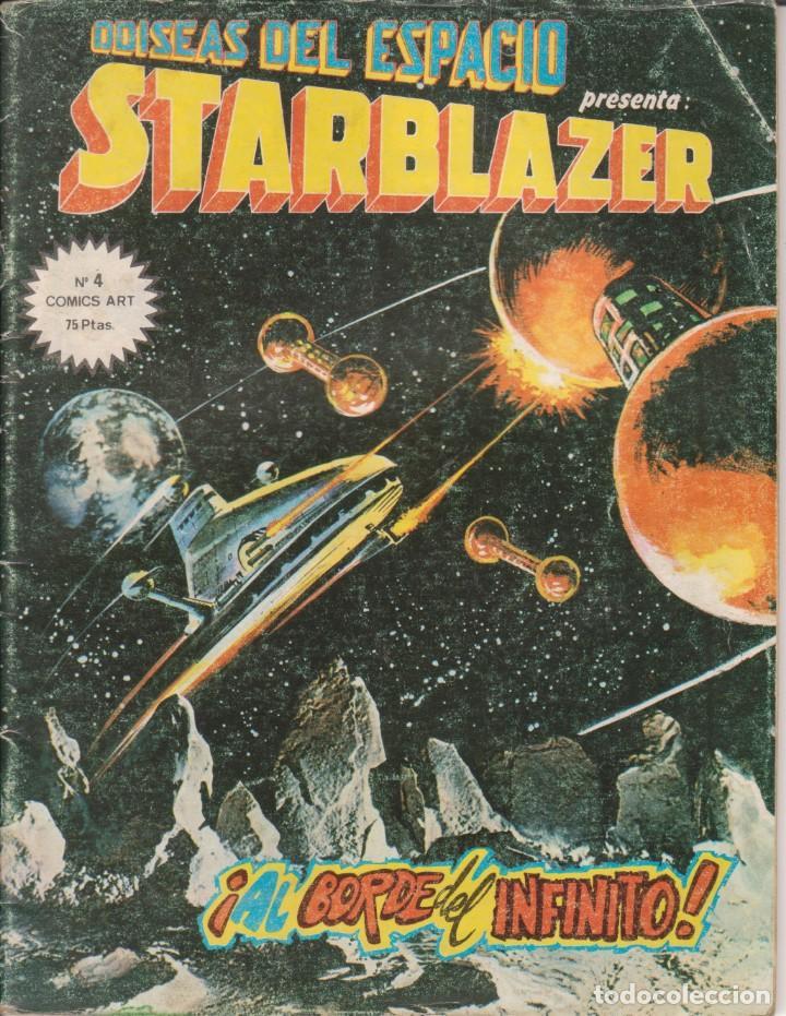 CÓMIC ODISEAS DEL ESPACIO - STARBLAZER Nº 4 ED. VËRTICE / D.C.THOMSON & C.O. 66PGS. 1980 (Tebeos y Comics - Vértice - Otros)