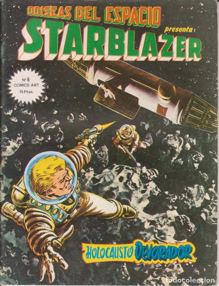 CÓMIC ODISEAS DEL ESPACIO - STARBLAZER Nº 5 ED. VËRTICE / D.C.THOMSON & C.O. 66PGS. 1980 (Tebeos y Comics - Vértice - Otros)
