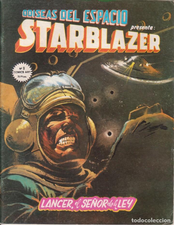 CÓMIC ODISEAS DEL ESPACIO - STARBLAZER Nº 9 ED. VËRTICE / D.C.THOMSON & C.O. 66PGS. 1980 (Tebeos y Comics - Vértice - Otros)