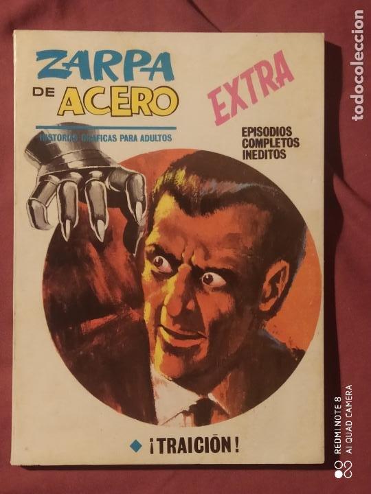 ZARPA DE ACERO VOL 1N 13 IMPECABLE ED.VERTICE (Tebeos y Comics - Vértice - Dan Defensor)