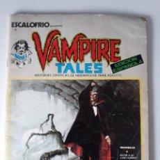 Cómics: ESCALOFRÍO Nº 1 PRESENTA: VAMPIRE TALES Nº 1. Lote 216015220