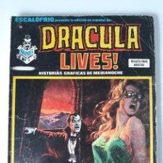 Cómics: ESCALOFRÍO Nº 36 PRESENTA: DRACULA LIVES Nº 9. Lote 216015770