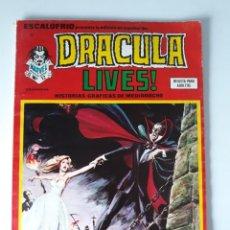 Cómics: ESCALOFRÍO Nº 42 PRESENTA: DRACULA LIVES Nº 12. Lote 216016257