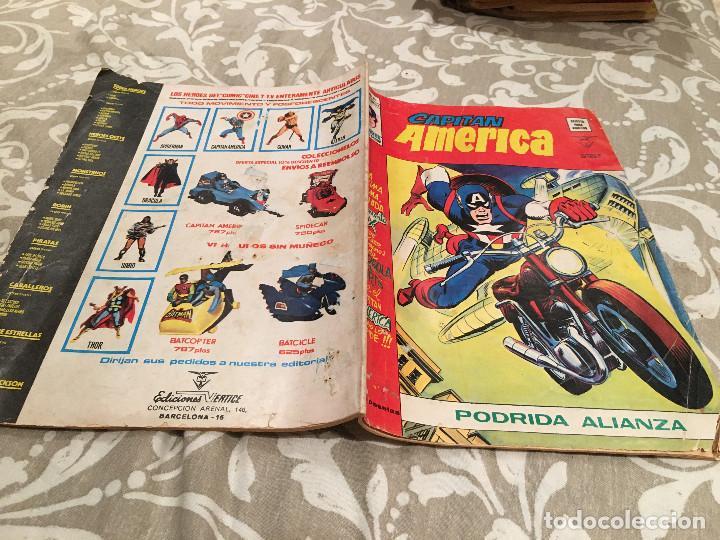 CAPITAN AMERICA - Nº 20 - VERTICE VOL 3 - PODRIDA ALIANZA (Tebeos y Comics - Vértice - Capitán América)