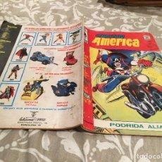 Cómics: CAPITAN AMERICA - Nº 20 - VERTICE VOL 3 - PODRIDA ALIANZA. Lote 216360233