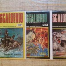 """Cómics: ESCALOFRIO N°50, 56, 63 (INCLUYEN """"SON OF SATAN"""") -VERTICE-. Lote 216368933"""