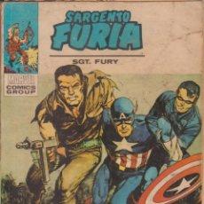 "Cómics: CÓMIC MARVEL SARGENTO FURIA Nº 7 ED, VÉRTICE V.1 ""TACO"" 128 PGS.. Lote 216393933"