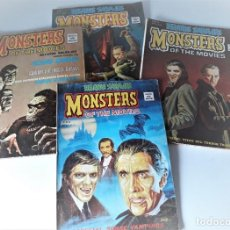 Cómics: RELATOS SALVAJES: MONSTERS OF THE MOVIES LOTE DE 4 NÚMEROS. Lote 216445065