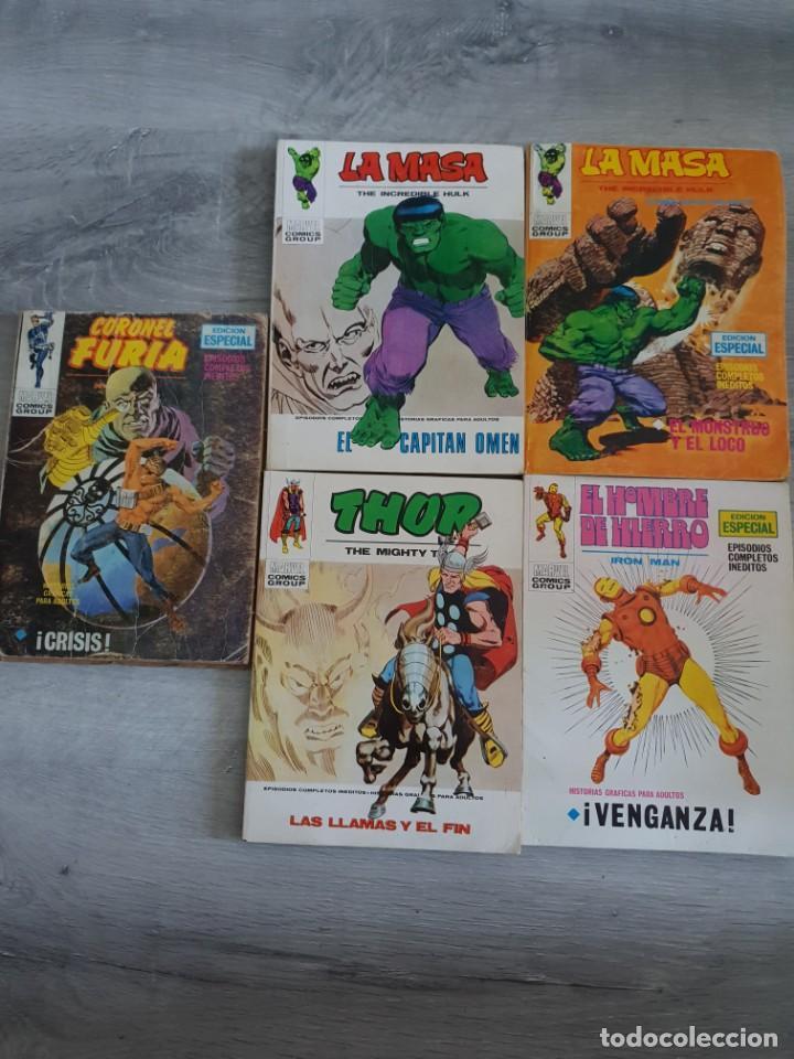 LOTE CON 5 COMICS VERTICE. BUEN ESTADO (Tebeos y Comics - Vértice - La Masa)