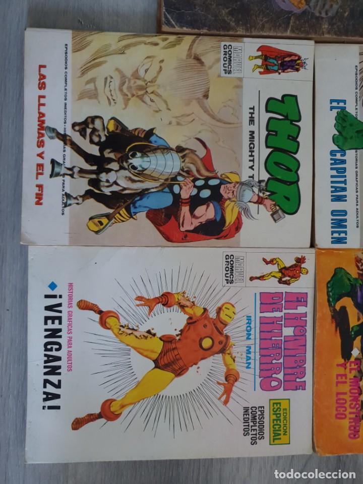 Cómics: Lote con 5 comics vertice. Buen estado - Foto 3 - 216613261