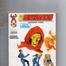 Fumetti: COMIC VERTICE 1969 LOS 4 FANTASTICOS VOL1 Nº 3 (EXCELENTE ESTADO). Lote 216747093