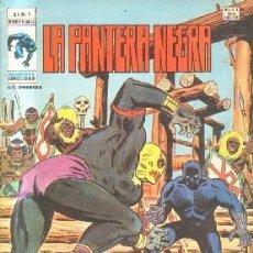 Comics: LA PANTERA NEGRA. V.1. Nº 4.TAMBORES. A-COMIC-5715. Lote 216777758