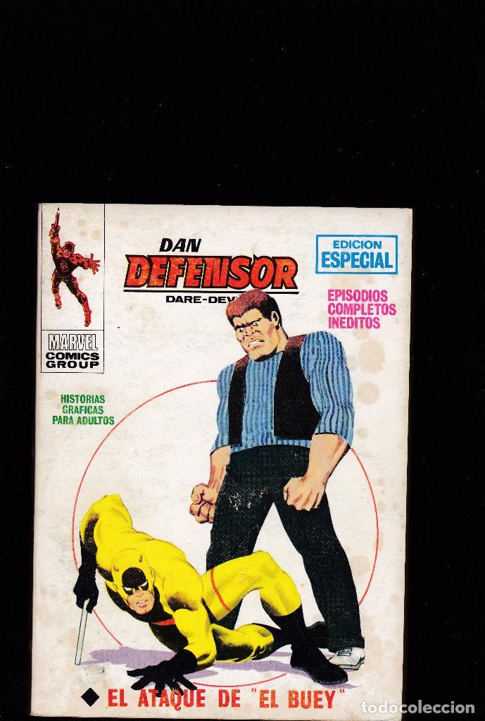 DAN DEFENSOR - Nº 14 - TACO ED. VERTICE VOL.1 - EL ATAQUE DE EL BUEY - (Tebeos y Comics - Vértice - Dan Defensor)