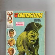 Comics: COMIC VERTICE 1969 LOS 4 FANTASTICOS VOL1 Nº 2 (NORMAL ESTADO). Lote 216834837