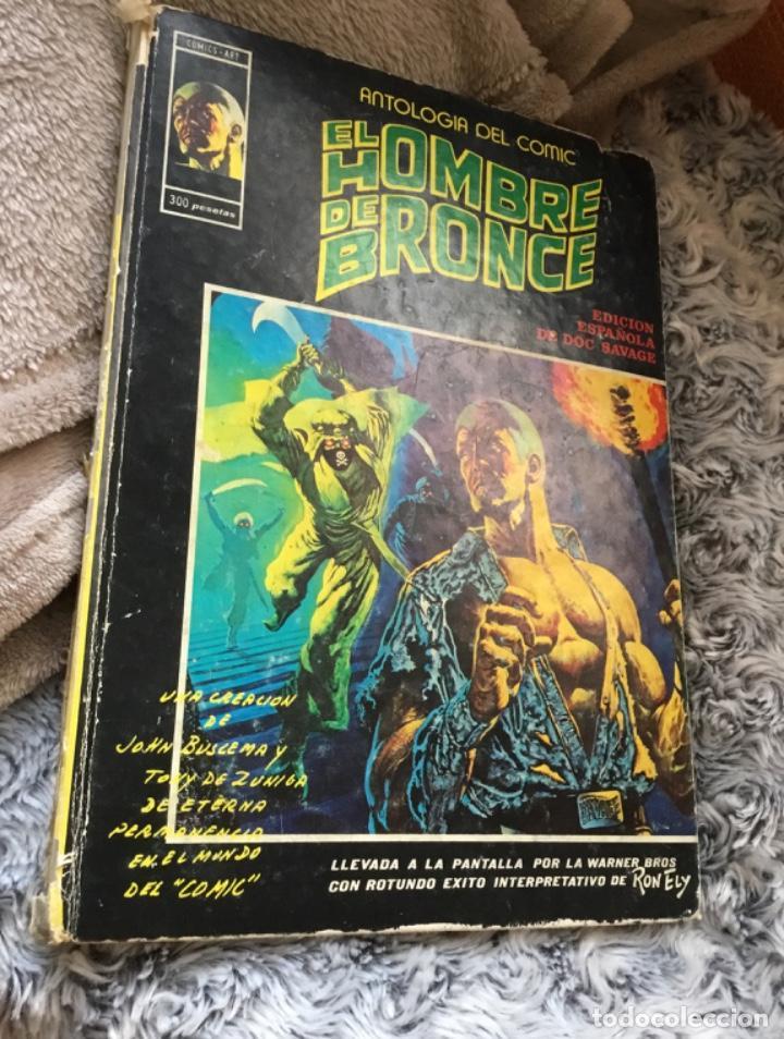 COMIC EL HOMBRE DE BRONCE ANTOLOGÍA DEL CÓMIC 1977 (Tebeos y Comics - Vértice - Relatos Salvajes)