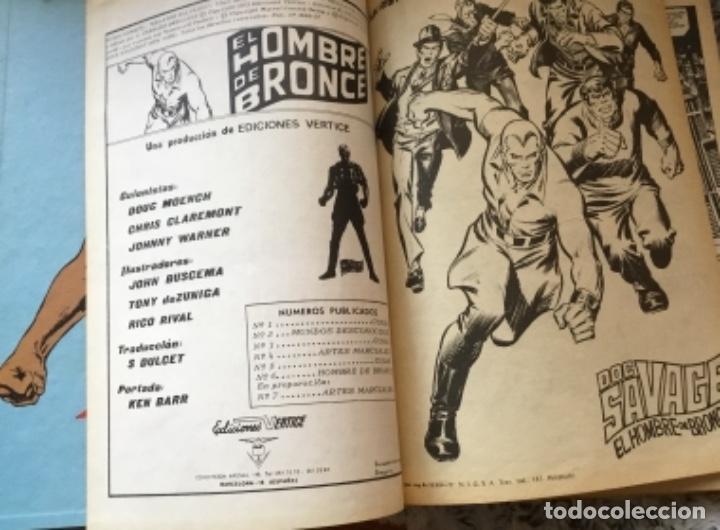 Cómics: Comic El hombre de bronce antología del cómic 1977 - Foto 4 - 216850355