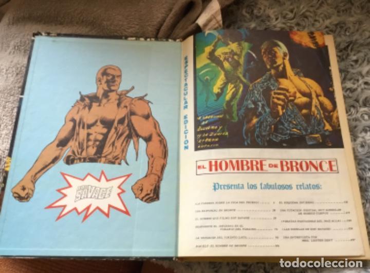 Cómics: Comic El hombre de bronce antología del cómic 1977 - Foto 5 - 216850355