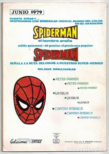 Cómics: La Cosa y Doctor Extraño: La maldición de Crawlinswood / Super Héroes Vol.2, 116 - Vértice, 01/1980 - Foto 2 - 216930808