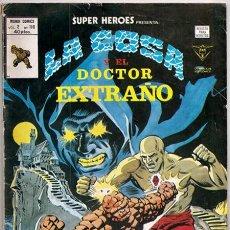 Cómics: LA COSA Y DOCTOR EXTRAÑO: LA MALDICIÓN DE CRAWLINSWOOD / SUPER HÉROES VOL.2, 116 - VÉRTICE, 01/1980. Lote 216930808