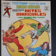 Cómics: RELATOS SALVAJES (1975, VERTICE) -ARTES MARCIALES- 47 · I-1979 · ¡HEROES DEL PASADO Y BATALLAS DEL P. Lote 217013197