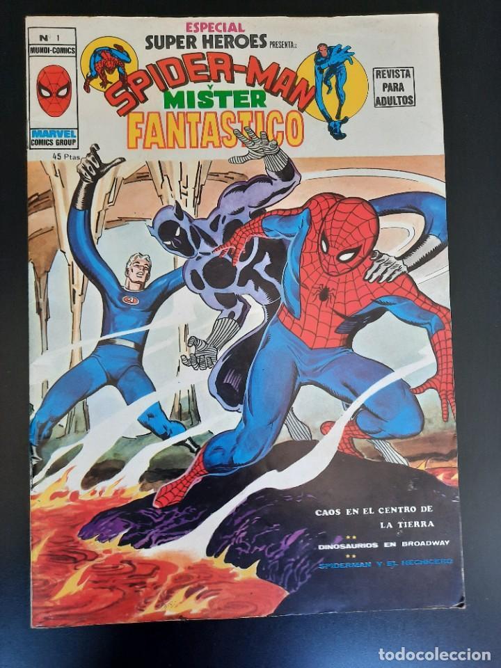 SUPER HEROES (1976, VERTICE) -ESPECIAL- 1 · 1976 · CAOS EN EL CENTRO DE LA TIERRA (Tebeos y Comics - Vértice - Super Héroes)